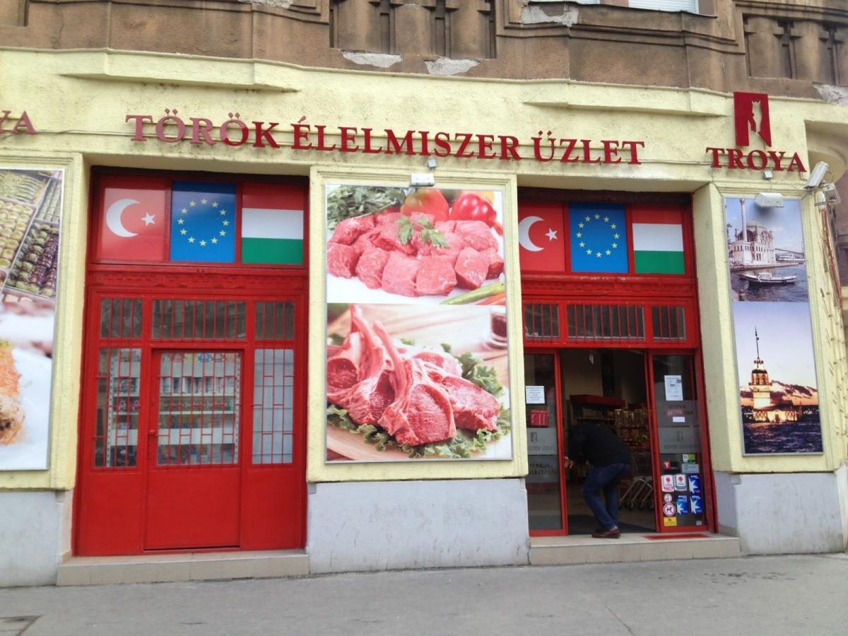 Troya török élelmiszerbolt